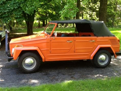 Volkswagen Things For Sale by Hemmings Find Of The Day 1973 Volkswagen Thing