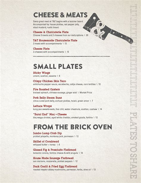 Table 24 Menu by Shem Creek S Tavern Table Released Menu Complete With