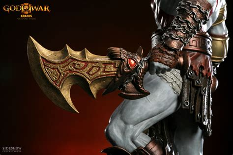 kratos polystone statue sideshow collectibles