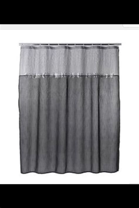 black sparkle shower curtain 17 best ideas about gray shower curtains on pinterest