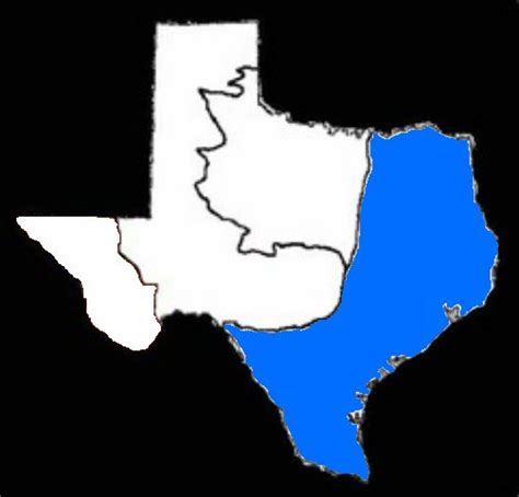 texas coastal plains map coastal plains city information texas regions