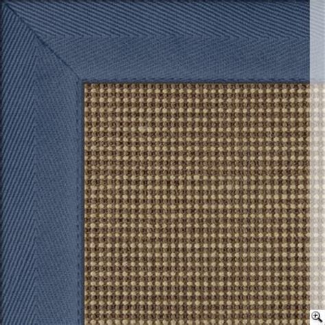 sisal rug with blue border sisal rug border cotton herringbone blue rug store sisal colours collection