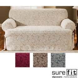 where to buy sure fit slipcovers sure fit scroll t cushion sofa slipcover ebay