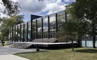 Hollyhock House Plan s r crown hall wikipedia
