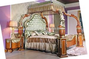 Luxury Canopy Bedroom Furniture Luxury Baroque Style Four Poster Canopy Bed