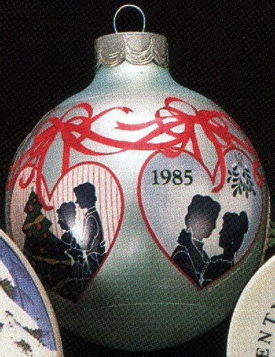 1985 first christmas together ball sdb hallmark ornament