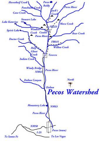 pecos river new mexico trout