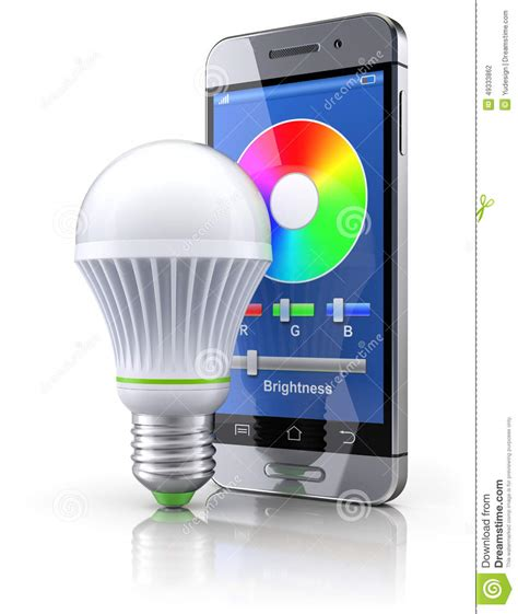 Lu Led Mobil Rc led bulb with mobile wifi remote stock