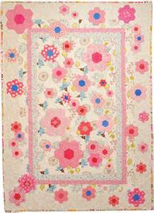 Hexagon Quilt Patterns Designs by 107 Best Images About Pink Quilts On