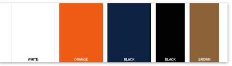 chicago colors chicago bears color scheme