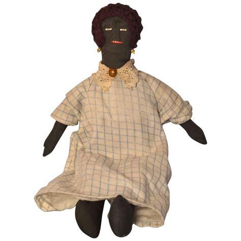 black doll 1940 american southern black rag doll circa 1940 at 1stdibs
