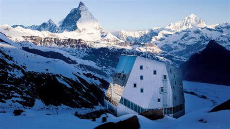 ski hutte monte rosa hut zermatt