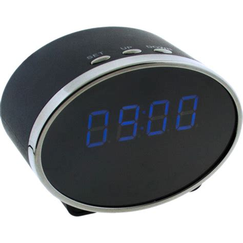 brick house security brickhouse security digital clock with 2mp wi fi hidden 228 ovi
