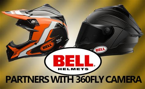 Helm Bell 360 Fly bell helmets partners with 360fly for the ultimate
