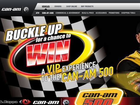 Can Am Giveaway - the buckle up with can am sweepstakes sweepstakes fanatics