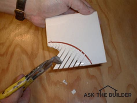 How To Cut Ceramic Floor Tile by Ceramic Tile Repair Ask The Builderask The Builder