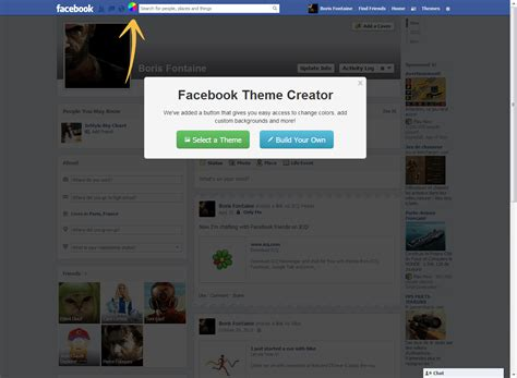 download themes builder facebook theme creator download