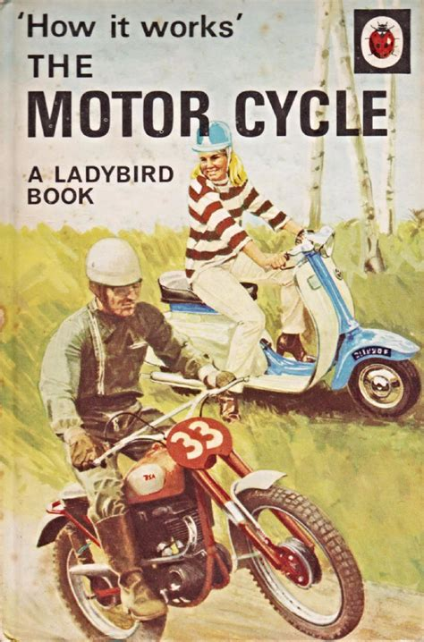 a vintage ladybird book the motor car how it works series 654 matte hardback re issue 2008 the motor cycle vintage ladybird book how it works series 654 first edition matte hardback 1968