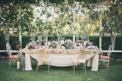 backyard style french garden style panacea event floral design loverly