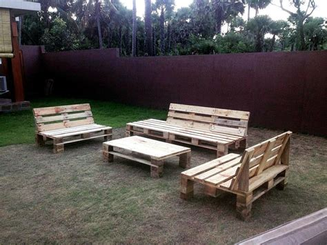 outdoor furniture made from pallets 30 easy pallet ideas for the home pallet furniture diy