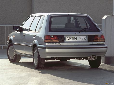 sunny nissan 1986 nissan sunny 5 door hatchback n13 1986 90 wallpapers