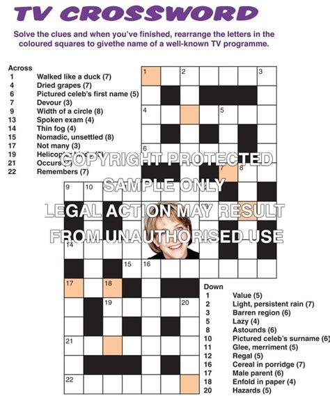 usa today crossword celebrity celebrities 171 apple puzzles
