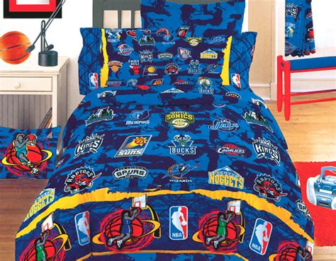 nba basketball hoops bedding comforter full double size