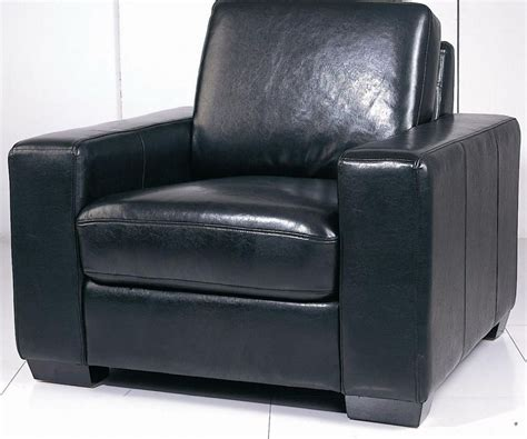 soho contemporary leather chair in black or white prime