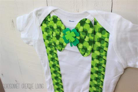 diy st s day bow tie onesie for diy st s day bow tie onesie for boys no sew sohosonnet creative living