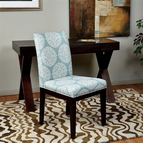 Upholstered Parsons Dining Room Chairs by Parsons Versailles Medallion Upholstered Armless Chair