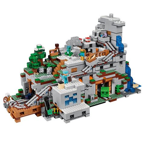 Produk Terlaris Lego Brick Compatible Lepin Minecraft The Cave 249 Pcs the mountain cave minecraft largest set compatible with lego 21136 21137 by lepin 18032 ucs 3k