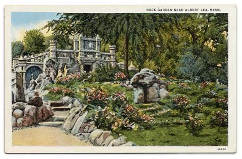 Rock Garden Mn The Christensen Rock Garden Is Located 2 Northwest Of Albert Lea Mn The Garden Is