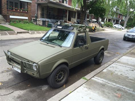 volkswagen rabbit truck cohort sighting volkswagen rabbit pickup tdi just