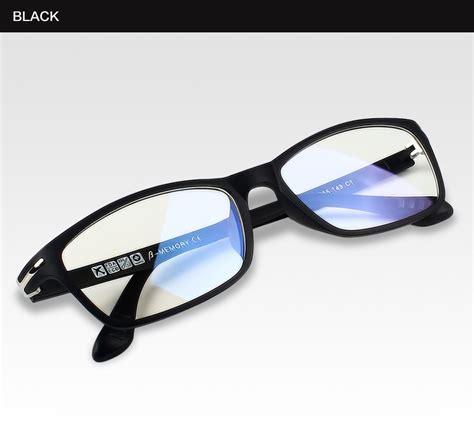 Spectrum Titanium Lensa Anti Radiasi kateluo baja karbon wolfram komputer kacamata anti tired radiasi tahan kacamata bingkai kacamata