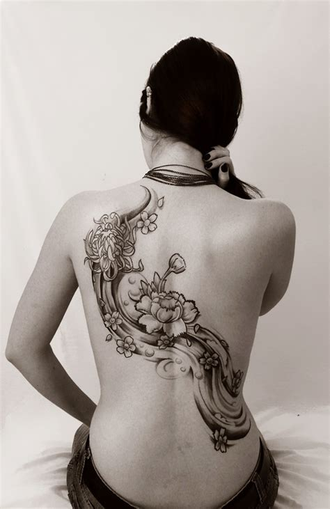 tattoo japanese flower japanese flower tattoos
