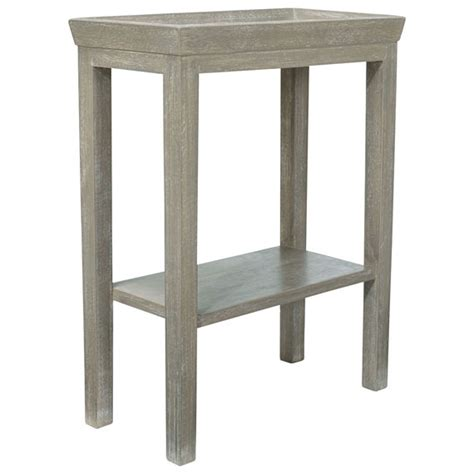 Gustavian Wooden Side Table Oka Small Sofa Side Table