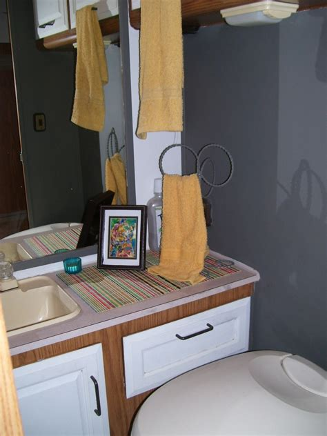 rv bathroom remodeling ideas our rv bathroom remodel for just a few dollars