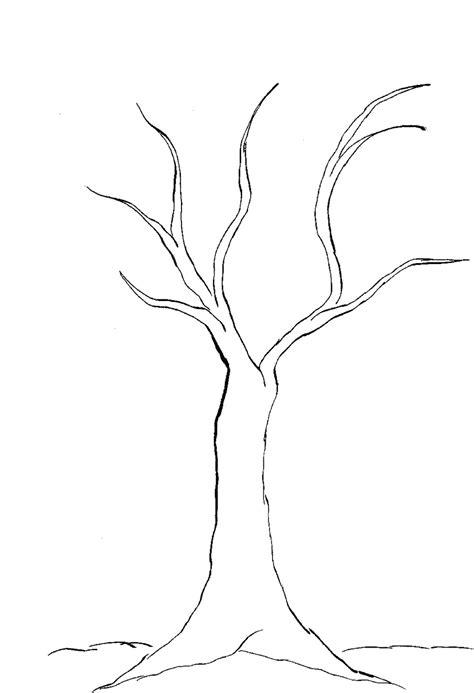 coloring page bare tree bare tree coloring pages color bros