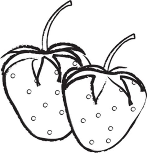 Strawberry Outline Drawing by Free Strawberry Clipart Image 0515 0906 1016 3220 Food Clipart