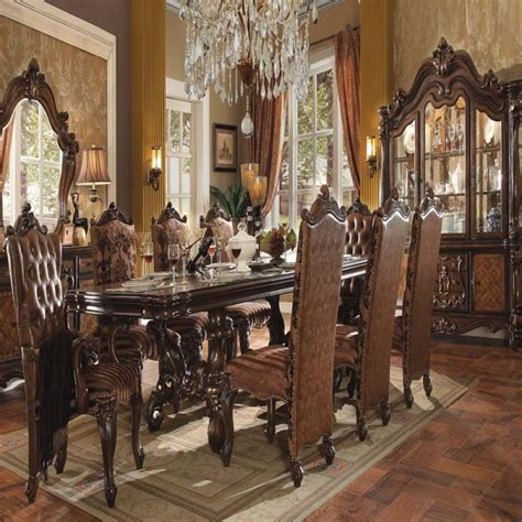 modern antique traditional modern style cherry oak 9pc