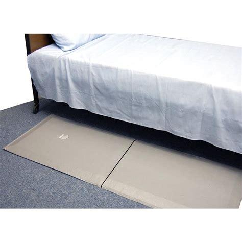 medline bedside folding floor mat fall mat and floor skil care safe and sound bi folding fall mat fall mat