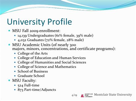 Montclair State Mba Ranking by Tunxis Cc Vaughn College Montclair State