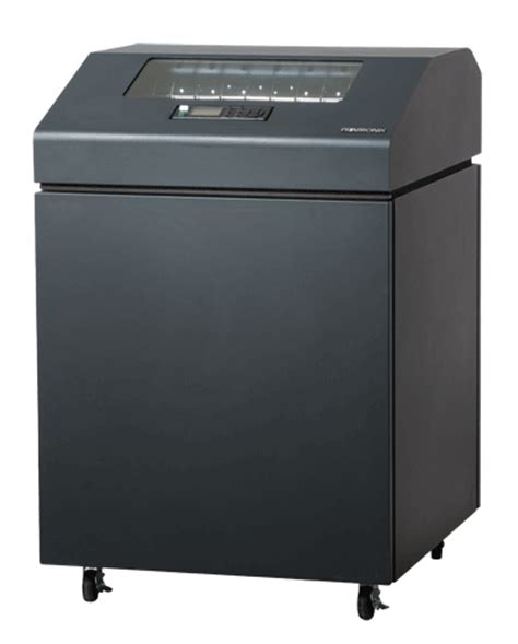 Printronix Line Matrix Printer P8205 Cabinet printronix p8210 p8c10 1000 lpm matrix line printer