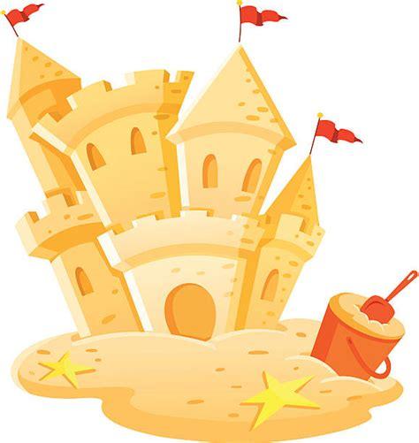 sand castle clipart sandcastle clip vector images illustrations istock