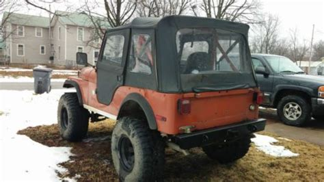 Jeep 12 Inch Lift Sell Used 1976 Jeep Cj5 V 8 304 4 Inch Lift 35 Quot X 12 5 Quot X