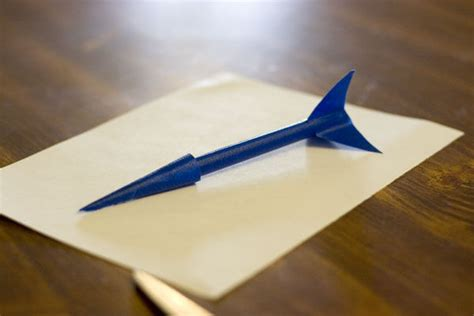 How To Make A Simple Paper Rocket - diy rockets