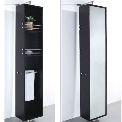 Modern Bathroom Storage Barcelona Rotating Storage Cabinet Espresso Free Shipping Modern Bathroom
