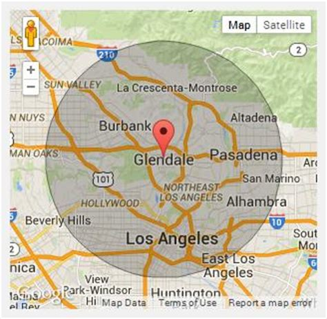 california map glendale chion portable toilets in glendale ca call 888 263 8822