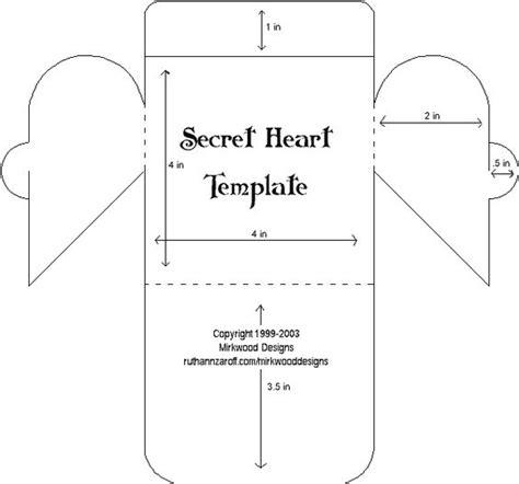 templates for valentine boxes printable templates secret heart mirkwood designs