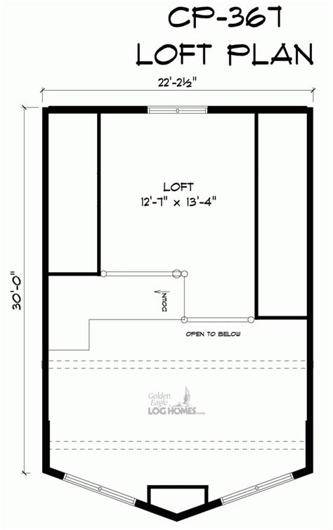golden eagle log and timber homes floor plan details big